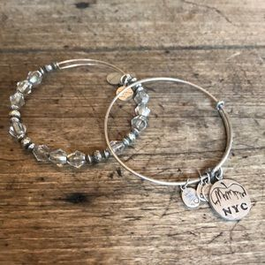 2 Alex and Ani bracelets for $30